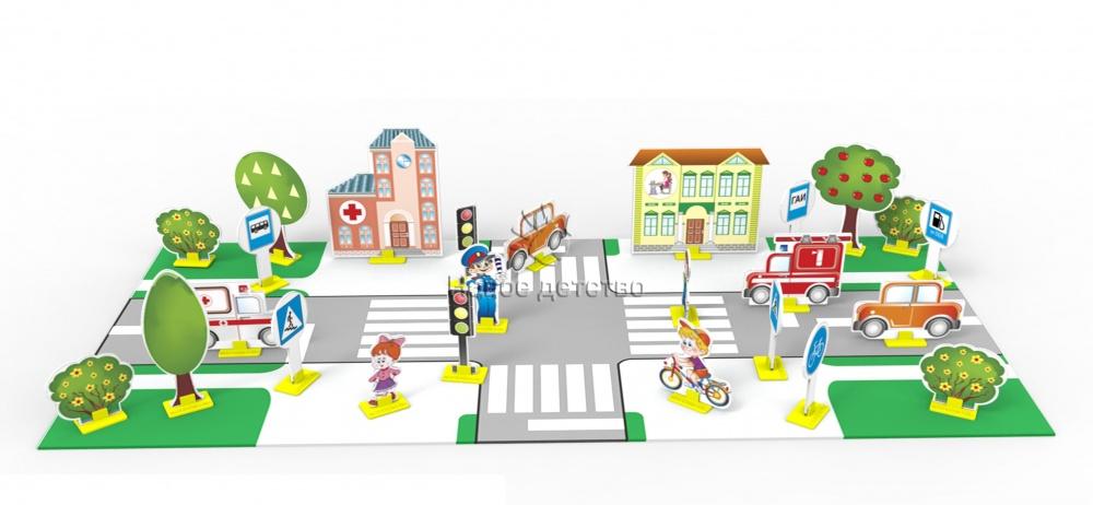 Картинки для детей макет дороги