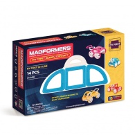 Magformers My First Buggy Car Set - Blue